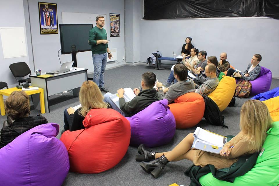 Лекции в первой украинской киношколе Ukrainian Film School