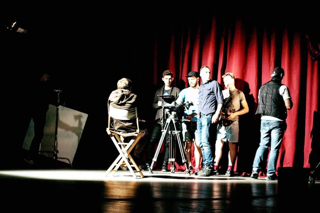 Съемки студентов первой украинской киношколы Ukrainian Film School